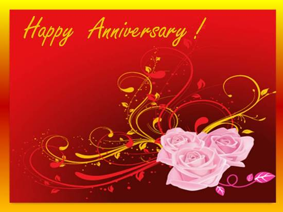 A Beautiful Wedding Anniversary Card Free Happy Anniversary eCards