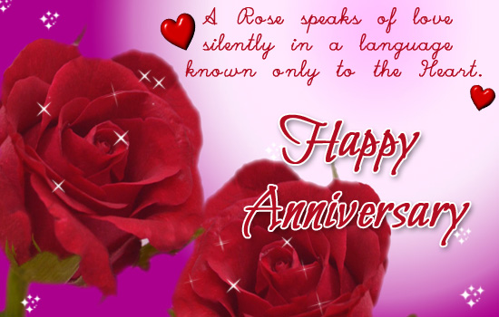 Happy Anniversary With Roses! Free Happy Anniversary eCards 123 - free anniversary images