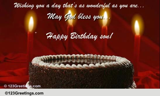 Musical Birthday Quotes Wallpapers Happy Birthday Son In Law Free Extended Family Ecards