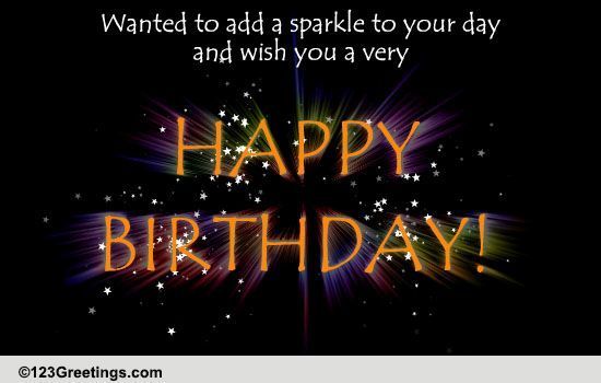 Musical Birthday Quotes Wallpapers A Birthday Sparkler Free Happy Birthday Ecards Greeting