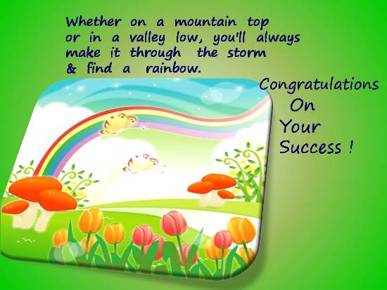Greetings On A Loved One\u0027s Success Free For Everyone eCards 123 - congratulations for or on