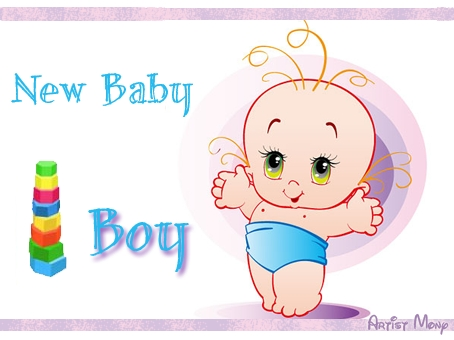 Cute Boy Free New Baby eCards, Greeting Cards 123 Greetings