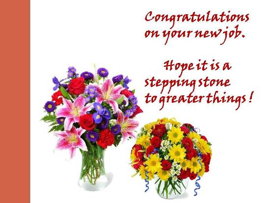 Congrats On Your New Job Free New Job eCards, Greeting Cards 123