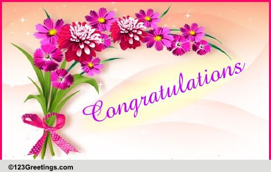 Congratulations! Free Promotion eCards, Greeting Cards 123 Greetings