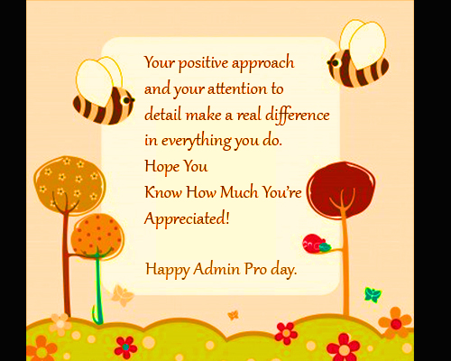 administrative assistant day card