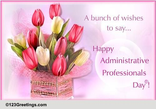 Administrative Professionals Day® Cards, Free Administrative