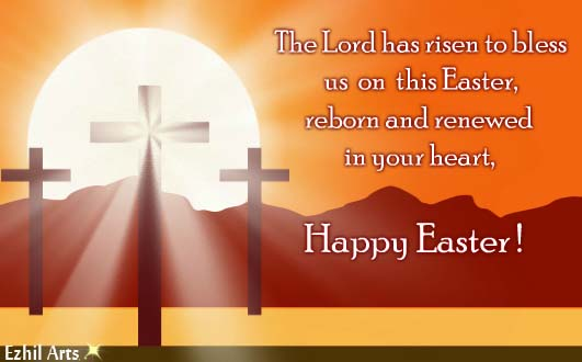 Cute Easter Egg Wallpaper The Lord Has Risen To Bless Us Free Family Ecards