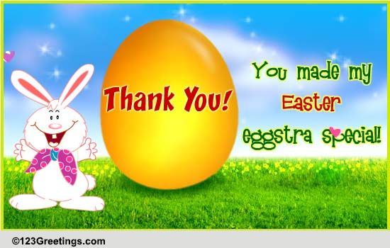 thank you easter