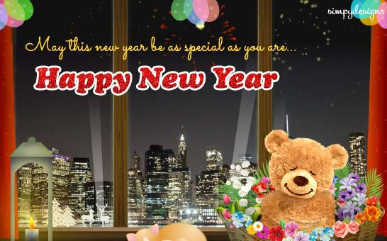 happy new year cards 2019