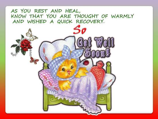 Cheerful Get Well Card Free Get Well Soon eCards, Greeting Cards - get well soon card