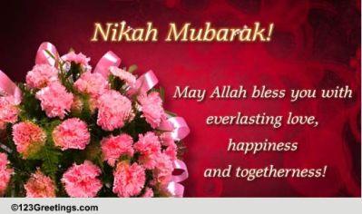 Nikah Mubarak! Free Around the World eCards, Greeting ...