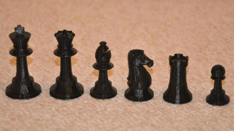 3D Printed Chess Set - 27 Unique Sets and Pieces to Mix  Match All3DP