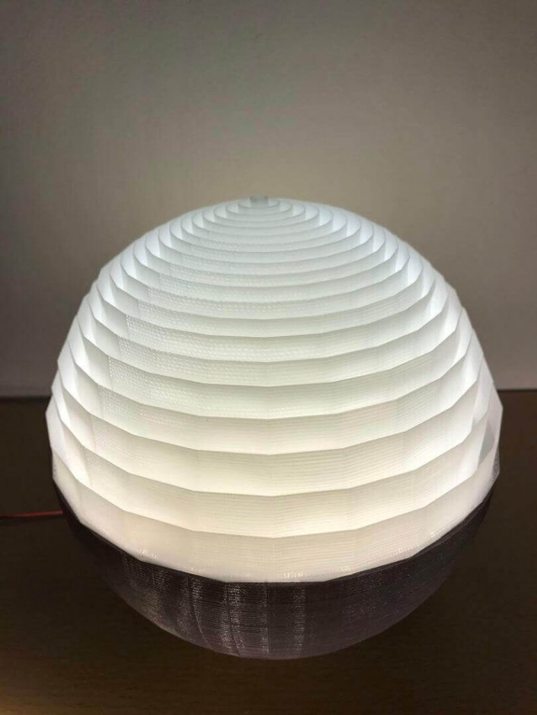 Paper Light Shades 25 Stylish 3d Printed Lamp Shades To Diy All3dp