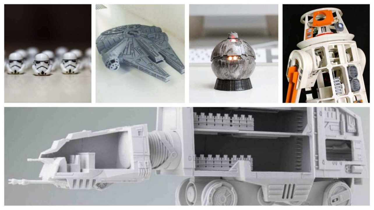 Star Wars House Items 45 Epic Star Wars 3d Models To 3d Print All3dp