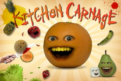 Annoying Orange: Kitchen Carnage iPhone game app review | AppSafari