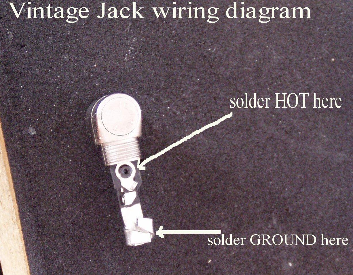 jack acoustic wiring