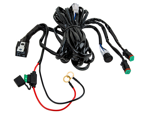atv wiring harness complete