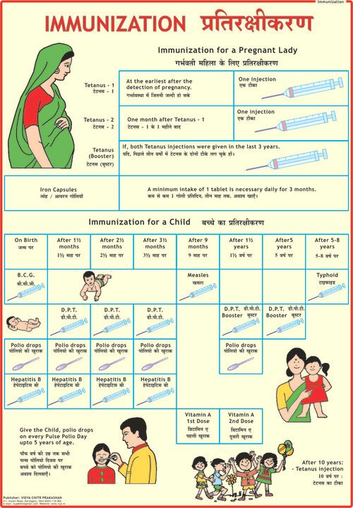 baby vaccination card
