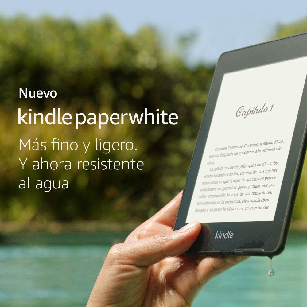 Libro Electronico Black Friday El Nuevo Kindle Paperwhite Rebajado En La Semana Del Black Friday