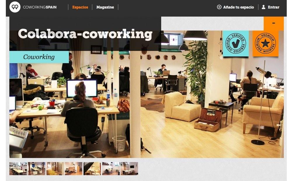 Coworking spain