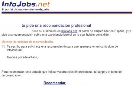 La evolución de las cartas de recomendación a los portales de empleo