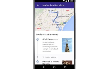 Con Destinations, Google quiere también convertirse en tu
