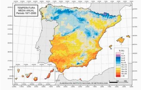 Temperatura Media 1971 2000