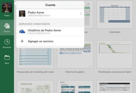 Así es Excel para iPad