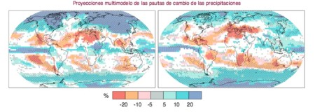 Precipitaciones Evolucion 2099