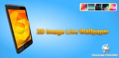 3D Image Live Wallpaper, fondos de pantalla con efecto Parallax en tu Android