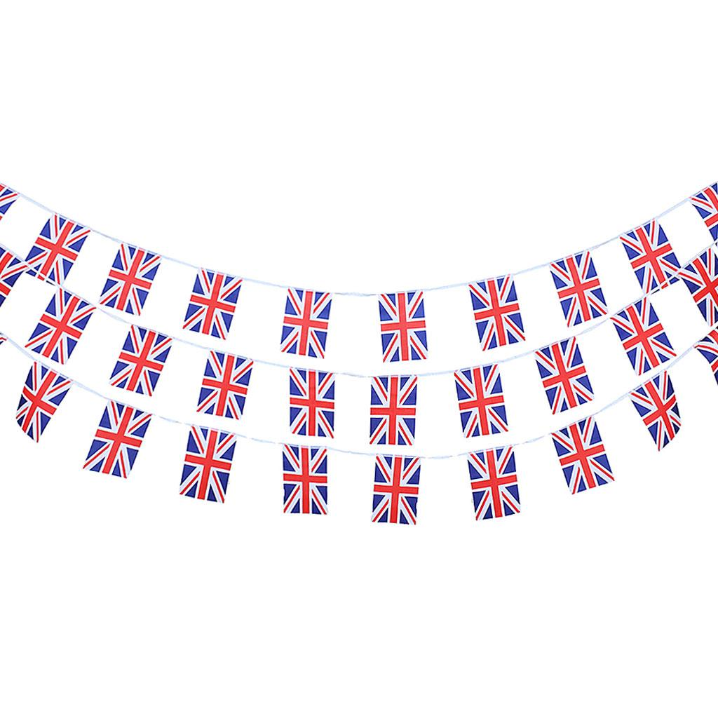 30pcs Lot Country Flags String Bunting Banner Garland Outdoor Garden Decor 10m