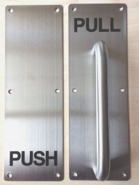 Door Push Pull & Remarkable Push Pull Door Hardware Height ...