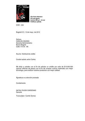 Calaméo - Carta - Solicitud de credito