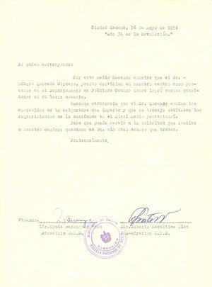 Calaméo - Carta de recomendacion y aval profesional de la ENA a