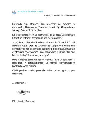 Calaméo - Carta De Solicitud