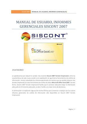 Calaméo - Inf Gerenciales Siscont - formatos de informes gerenciales