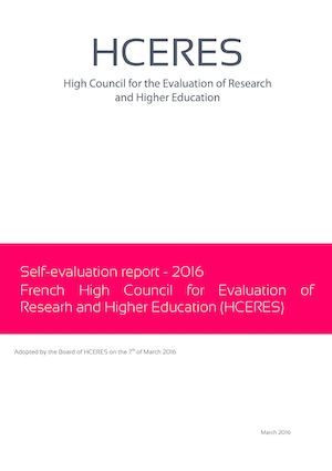 Calaméo - HCERES - Self evaluation report - evaluation report
