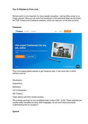 Calaméo - 10 Best Freelance Websites To Find A Job (1)