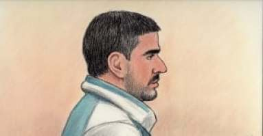 Bhupinderpal Gill court sketch