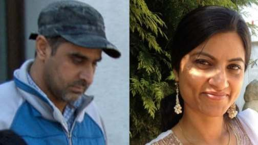 Bhupinderpal Gill, left, and Gurpreet Ronald, right, have been charged with first-degree murder in the January 2014 death of Jagtar Gill, Bhupinderpal's wife.