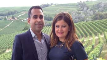 Dr. Avtar Jassal and his wife, Michelina.