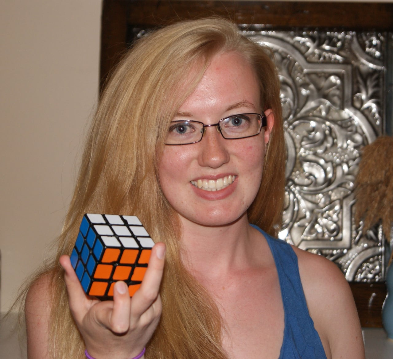 Rubik's Cube Montreal Lack Of Female Competition For Guelph Rubik S Cube Puzzler Cbc News