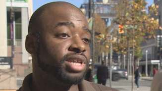 U.S. citizen Kyle Canty says he fears for his life in his home country because of his race.