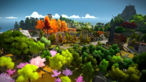 Beautiful 3d Wallpaper For Mobile The Witness Is A Beautiful Bewildering Puzzle Game From