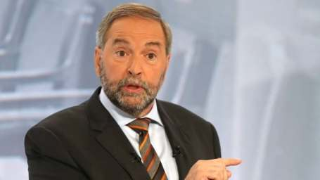 NDP Leader Tom Mulcair says he takes responsibility for the party's disappointing third-place finish in the last federal election campaign.