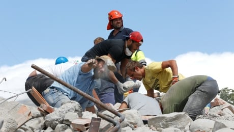 Canadian among the dead in Italy's earthquake