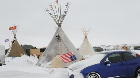 Standing Rock leader tells protest camp it's time to go home