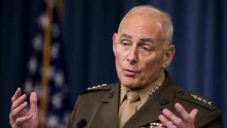 Retired general tapped for Homeland Security post