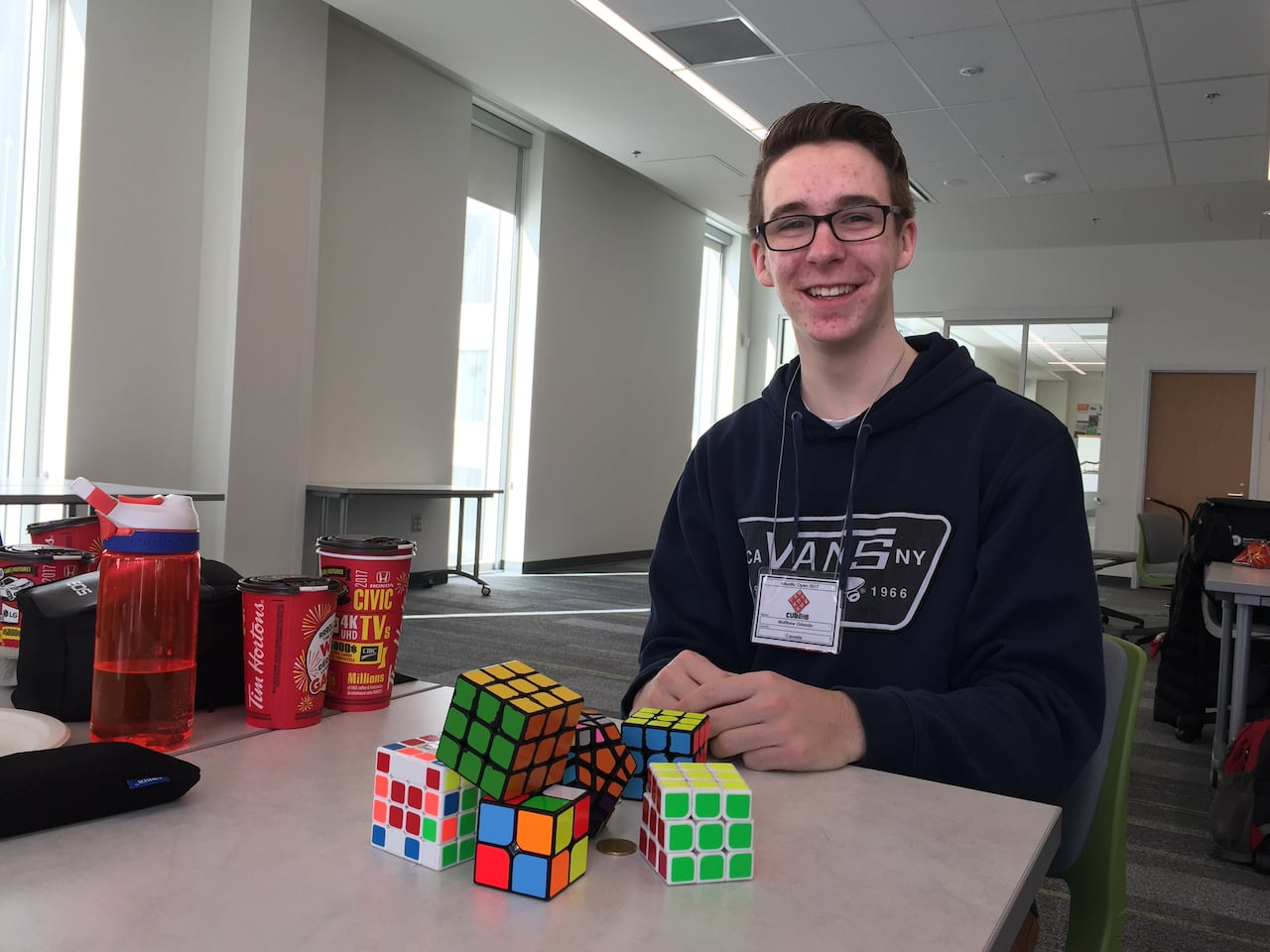 Rubik's Cube Montreal With Rubik S Cubes It S Always A Challenge To Get Faster Cbc News