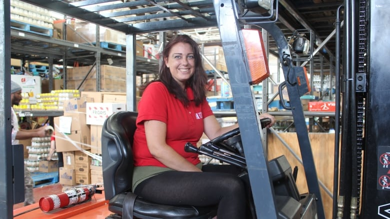 How this woman went to a food bank to help her family, and found a - found a job